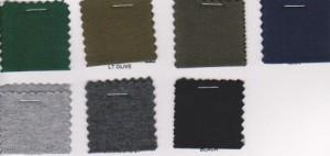 10 oz  Cotton Lycra  Jersey Colors Page 3