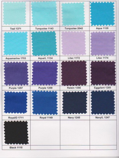 TAFFETA LINING COLOR CARD PAGE 3