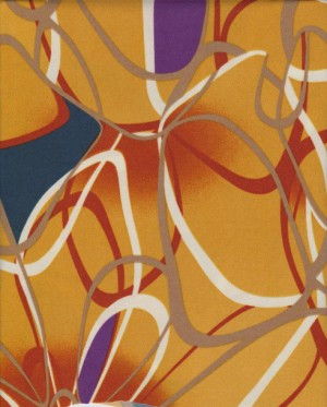 Abstract Print on ITY ( Poly /Lycra Jersey)