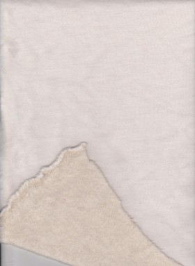 Bamboo-Hemp Fleece ( Nature Color)