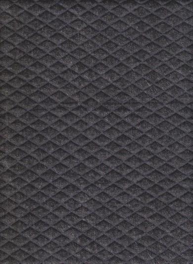 Black QUILT Knit