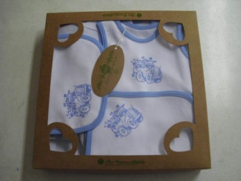 Blue Train  NewBorn Baby Boy Set- 10 Pcs Set