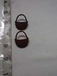 Braided Basket ( Brown) -Button