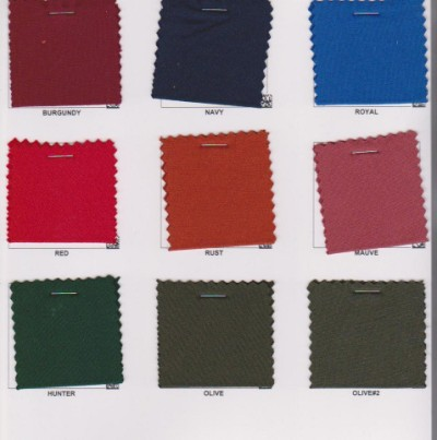 Double Brushed Poly Lycra Jersey Colors 1