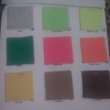 Double Brushed Poly Lycra Jersey Colors 3