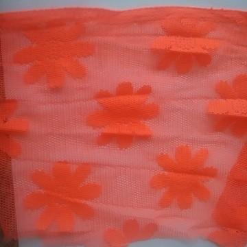 Daisy Mesh Neon Orange