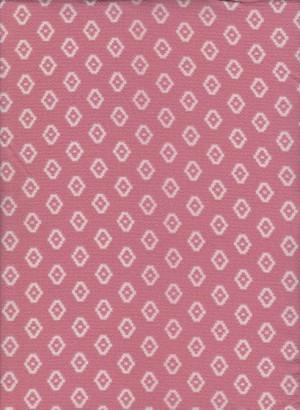 Diamond Shapes on Dusty Pink Crepe
