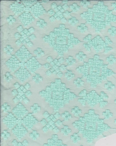 Embroidery Overall Lace Mint
