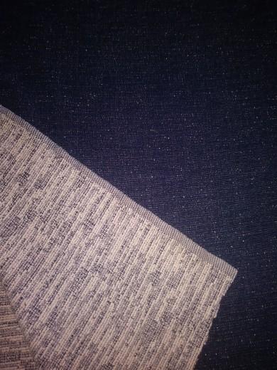 Faux Denim - Indigo Denim with Textured