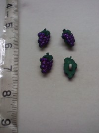 Grapes ( Lurex)-Button