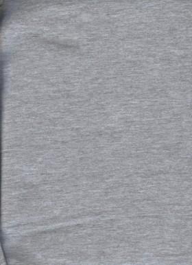 HEATHER GRAY  Cotton Lycra Jersey Knit