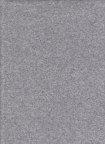 HEATHER GRAY  Cotton Poly Velour