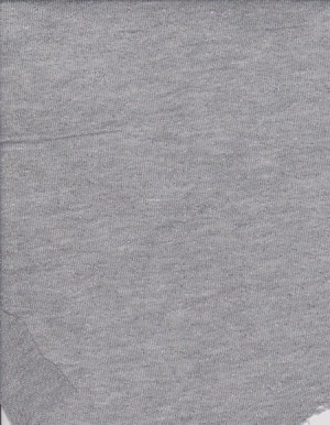 JERSEY Gray with Silver Lurex