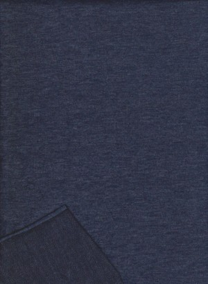 NAVY ( 2 TONE) Double Brushed French Terry