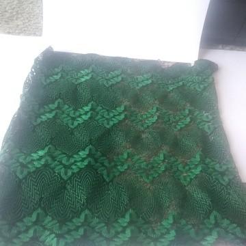 Chevron Lace Overall Green