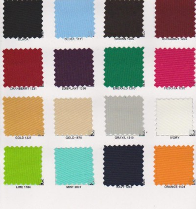 POPLIN  POLYESTER Solid Colors 1