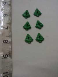 Pine Tree ( Green)-Button
