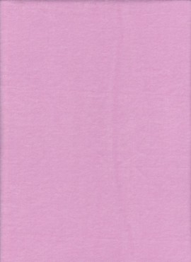 PINK Cotton Poly Velour