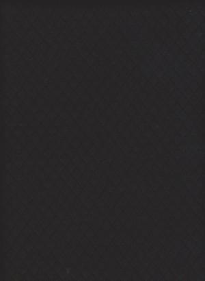 Quilt Knit- BLACK Cotton Lycra