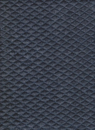 Denim Blue Quilt Knit