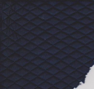 Quilt Knit- Navy