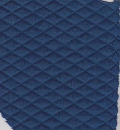 Quilt Knit- Royal Blue