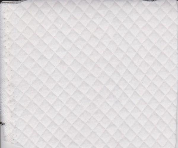 Quilt Knit- WHITE