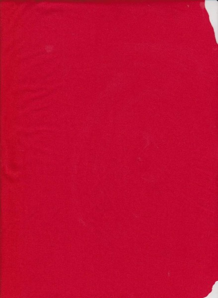 Red Double Brushed Poly Lycra
