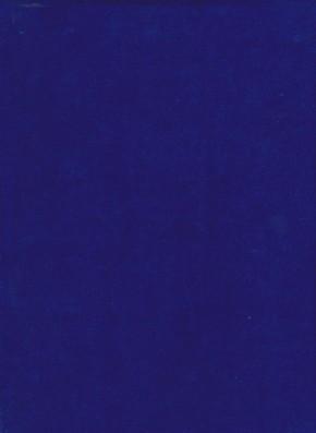 ROYAL BLUE Cotton Poly Velour