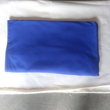 Royal Blue  Double Brushed Poly Lycra Jersey