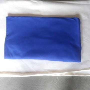 Royal Blue  Double Brushed Poly Lycra Jersey