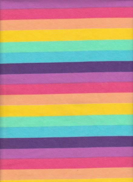 SPRING  Stripe on Cotton Lycra Jersey