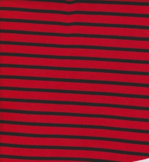 Red and Black Stripe Liverpool