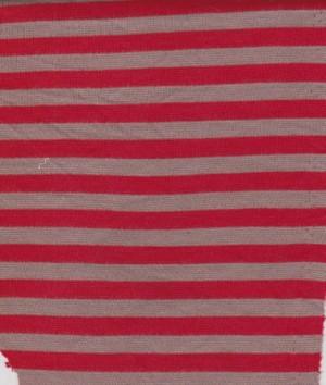 Stripe  Red and Gray on Ponte De Rome
