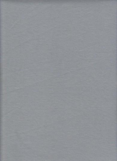 Silver Cotton Lycra  Jersey