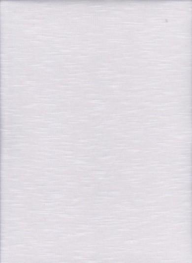 Slub Jersey Rayon Poly Lycra White