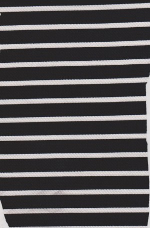 Stripe-Black and White on Liverpool
