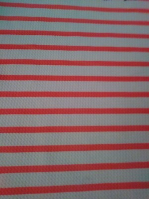 Stripe-Neon Pink and White on Liverpool