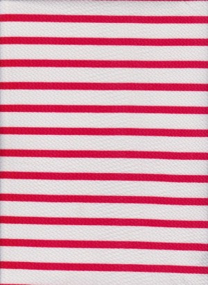 Stripe-White and Coral on Liverpool