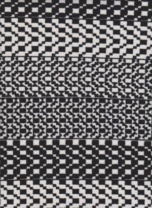 Trendy Black and White Stripe on Liverpool