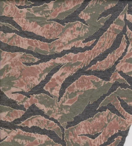Wild Animal Print on Rayon Poly Lycra French Terry
