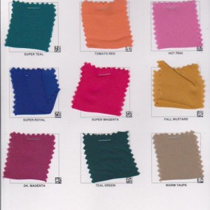 Wool Dobbie Color Card Page 2