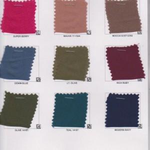 Wool Dobbie Color Card Page 1